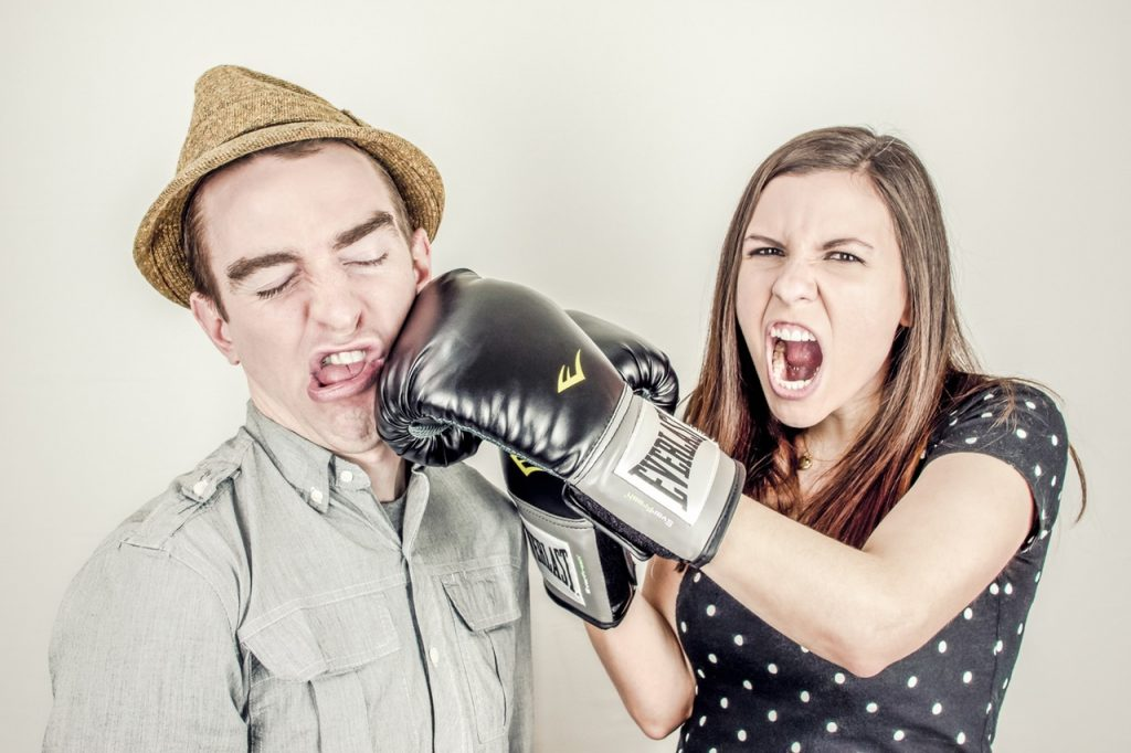 How to Fight With Him the Right Way